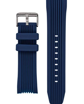 Bracelet silicone bleu foncé