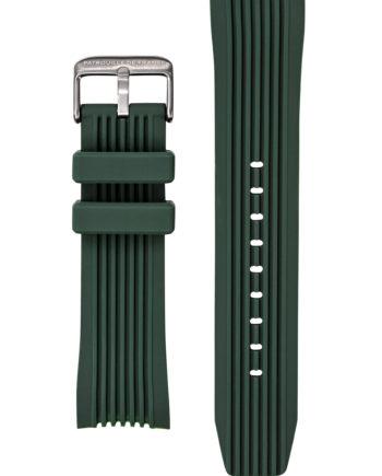 Bracelet silicone vert foncé