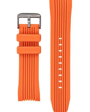 Bracelet silicone orange