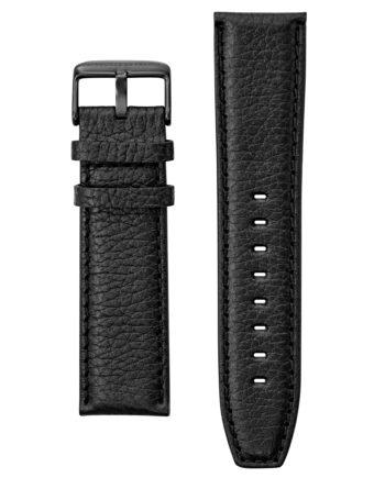 Bracelet Montre Patrouille de France cuir noir